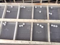 振动筛木框筛网钉制方法