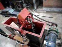 NE30板链斗式提升机厂内试机